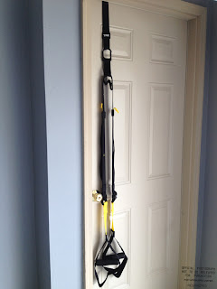 TRX Suspension Training System, finished.