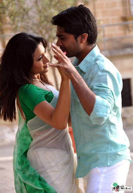 Vinnaithandi Varuvaya Trisha Hot Trisha saree pics from vinnai