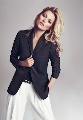 British supermodel Kate Moss Fall Winter 2012 Campaign