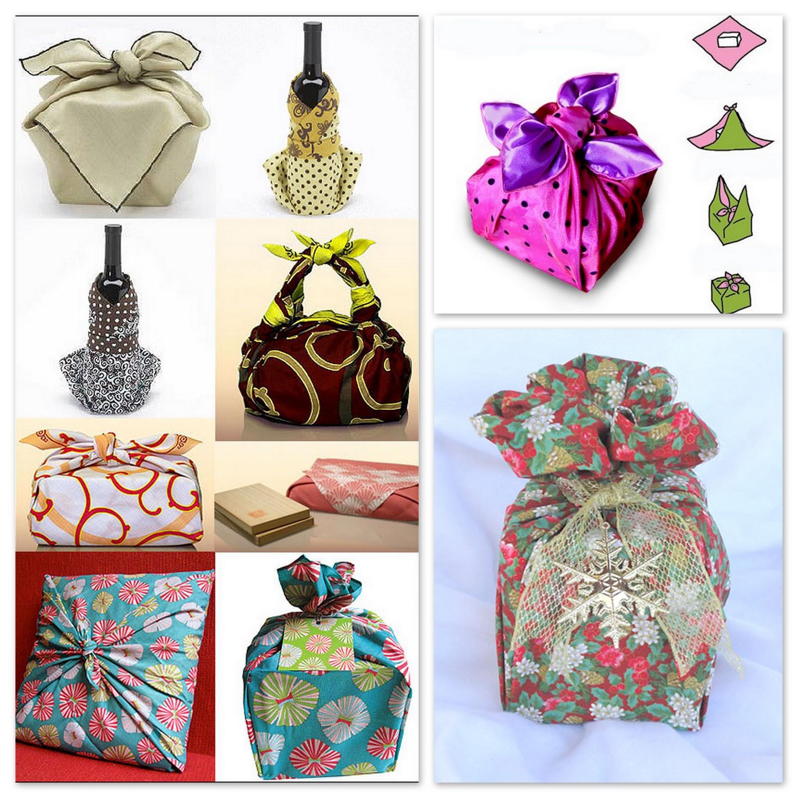Подарки в текстильной упаковке
