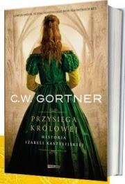 Okładka. Christpher W. Gortner - Przysięga królowej