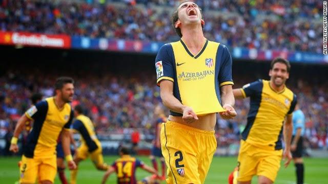 Godin consiguió el gol que dió la liga al Atlético