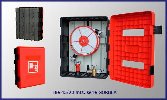 BIE 45 mm, boca de incendios GORBEA