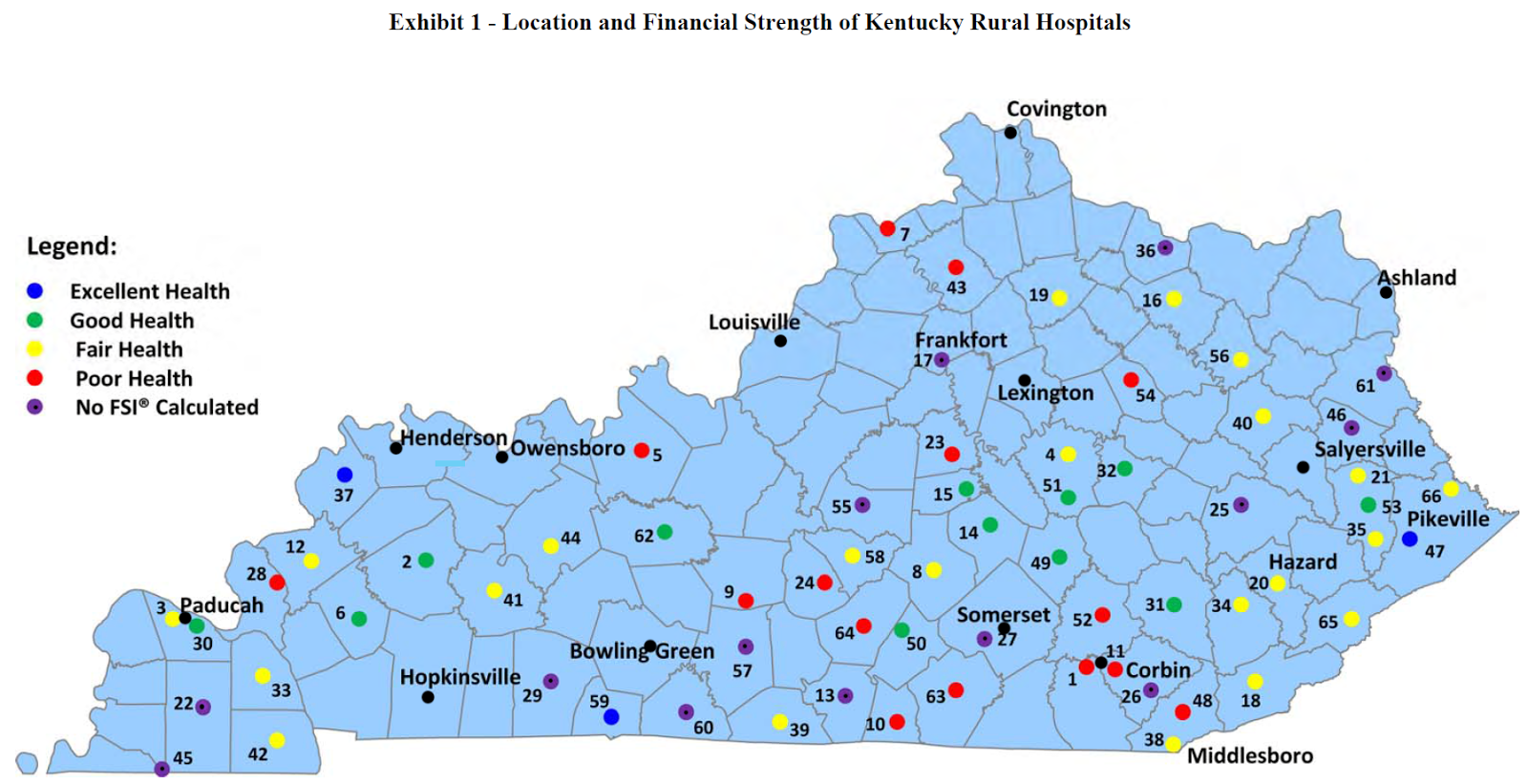Kentucky Health News Up To 13 Of Rural Hospitals In Poor