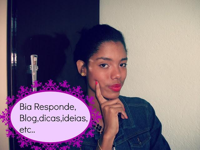 ♥ Vídeo: Bia responde Blog,dicas,ideias, etc...♥