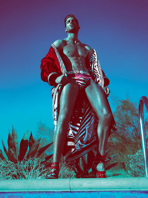 Ryan Barrett by Mert & Marcus for Versace Man Spring 2012