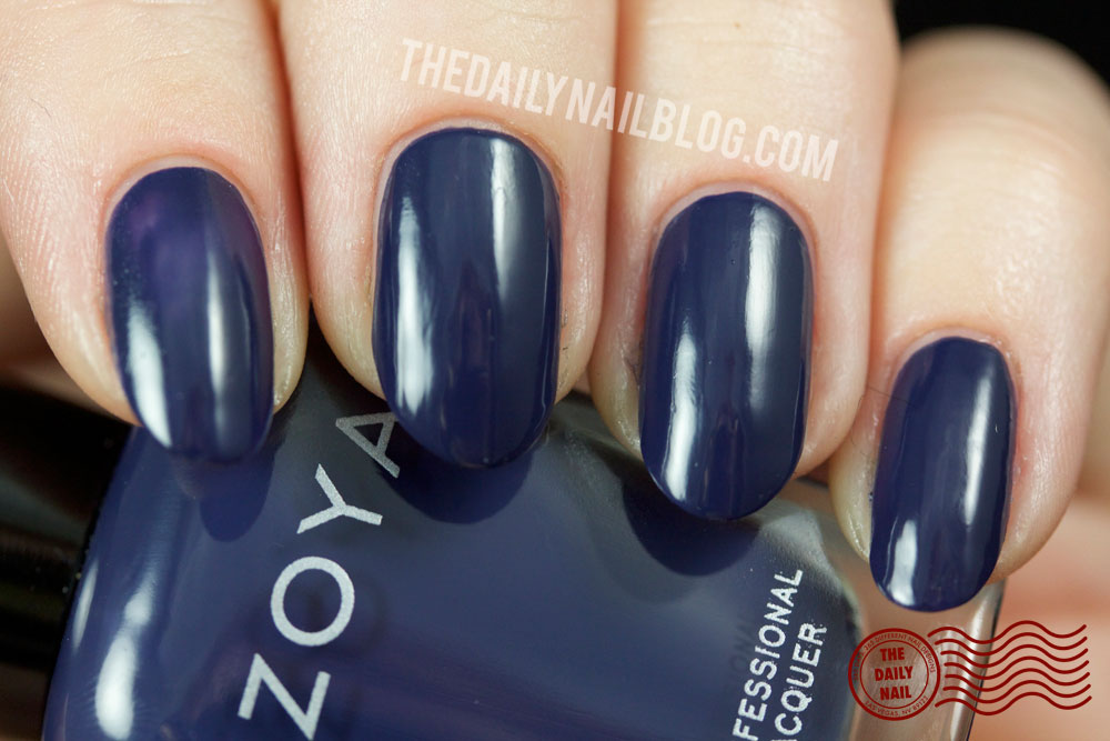 Zoya Cashmere Sailor Swatch Fall 2013