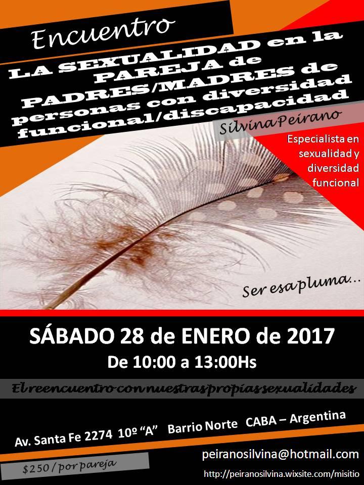 """ENCUENTRO LA SEXUALIDAD en la PAREJA  de PADRES/MADRES """"especiales"""""""