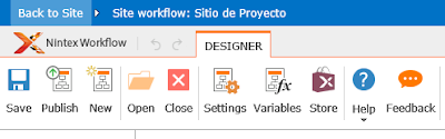 NINTEX Workflow para Office 365