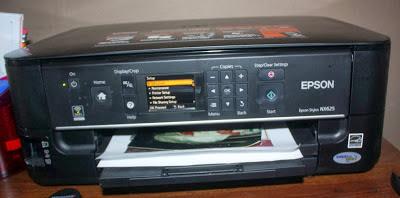 reset Epson Stylus NX625 pads