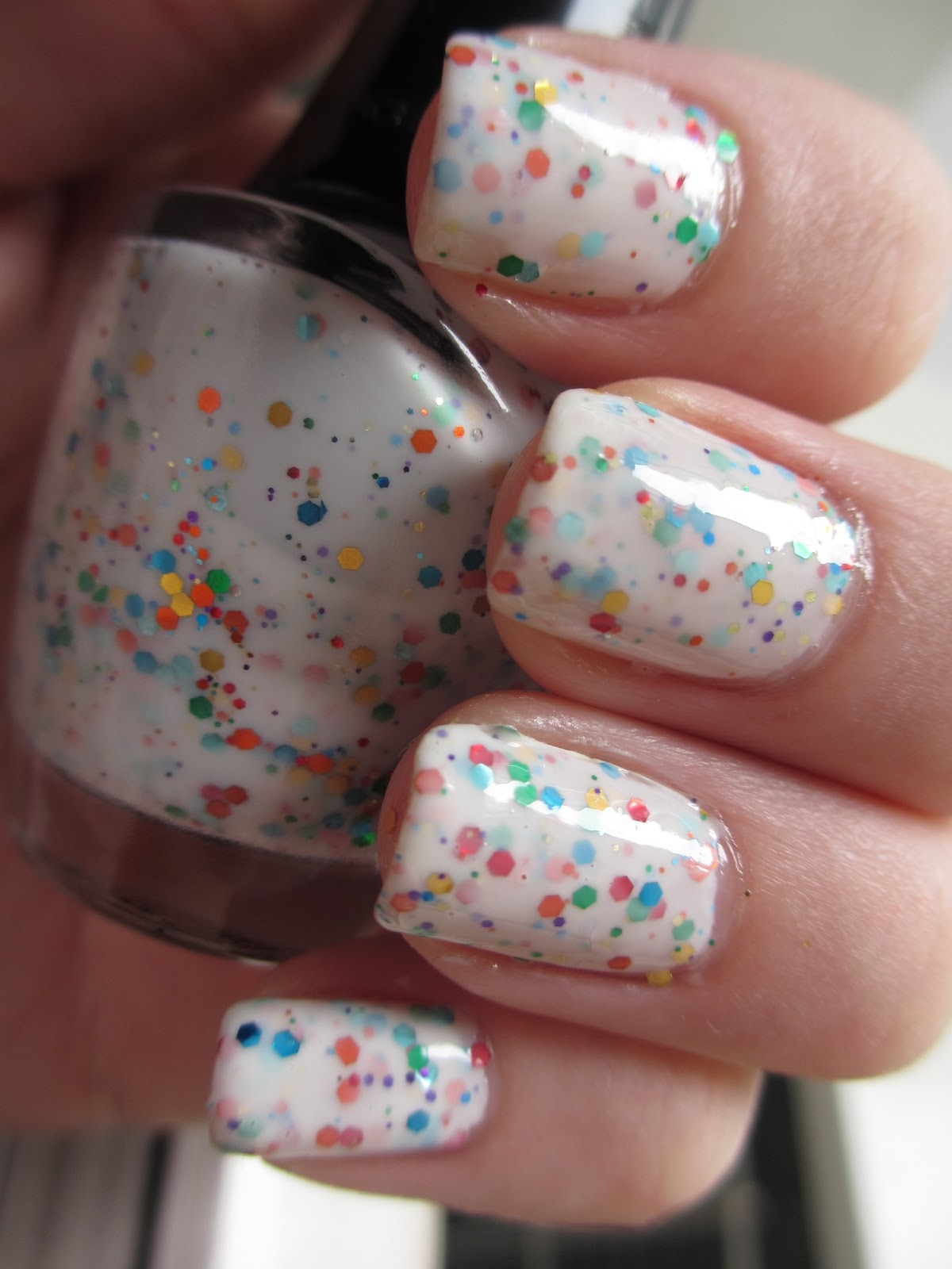 lovely me:ex yogurt nails vanilla