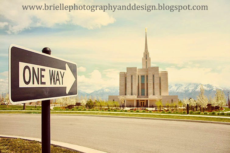 One Way Temple Photo