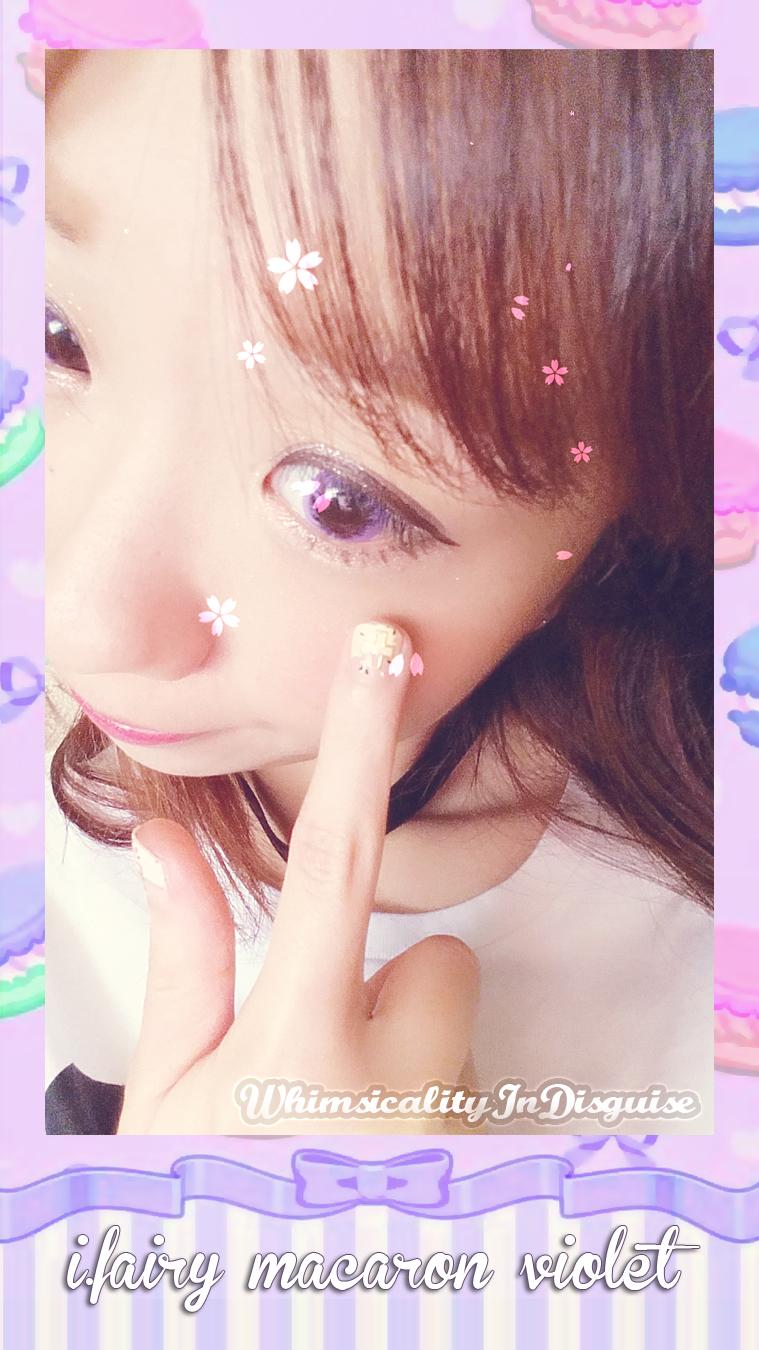 I.Fairy Macaron Violet review