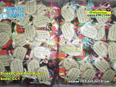 Towel Cake Roti Kukus murah