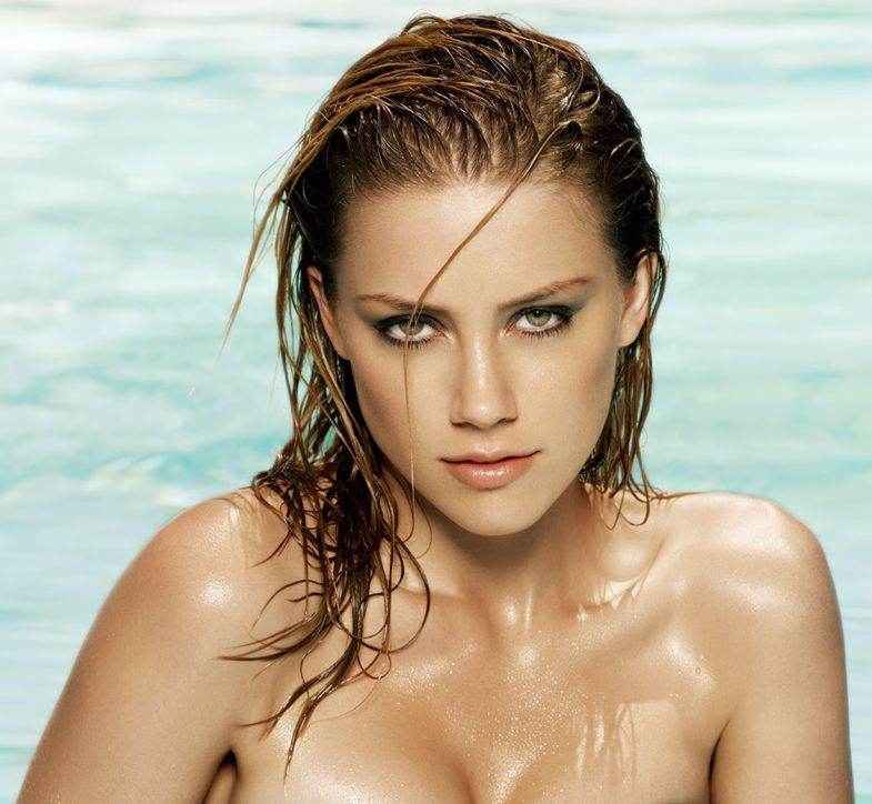 Yesterday Kate Upton did Guess today Amber Heard amber heard nake