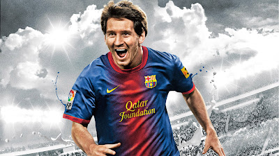 Lionel Messi Fifa 2013 Best Footballer Barcelona Hd Desktop Wallpaper