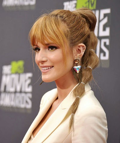 Cascade ponytail