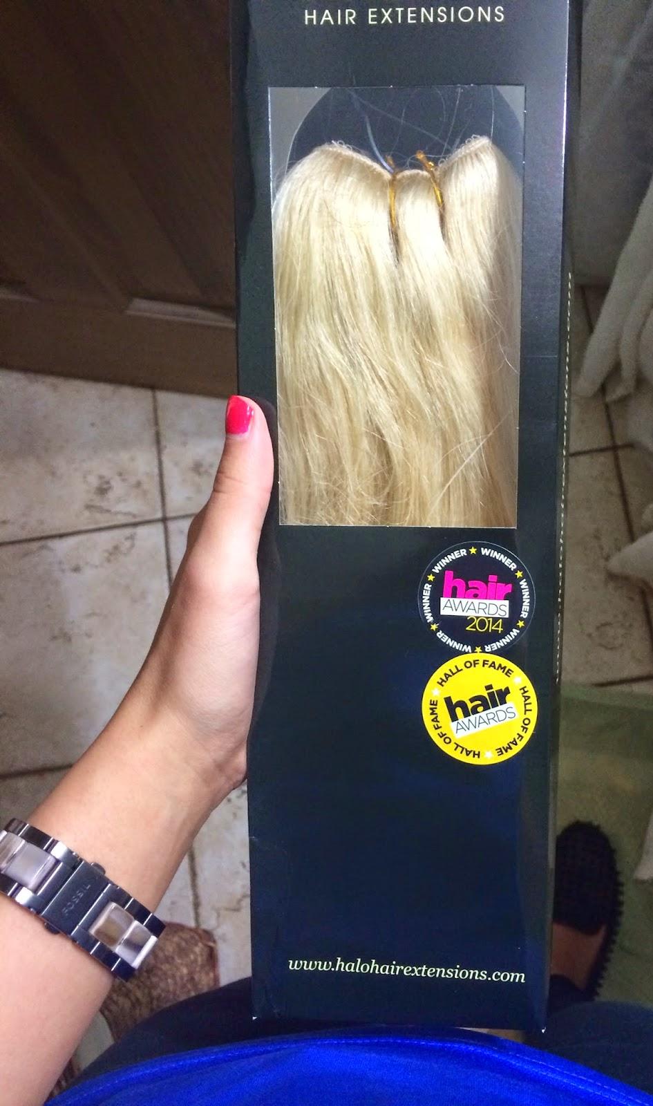 Allison Depperschmidt Halo Hair Extensions