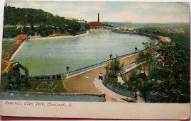 CINCINNATI POSTCARDS: Eden Park Reservoir