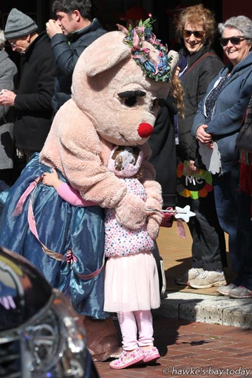 Blossom Parade, Hastings Blossom Festival, Hastings. photograph