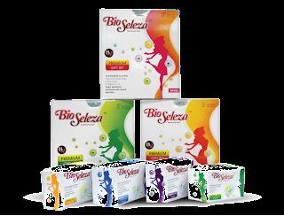 Barisan produk Bio Seleza Feminine Pad