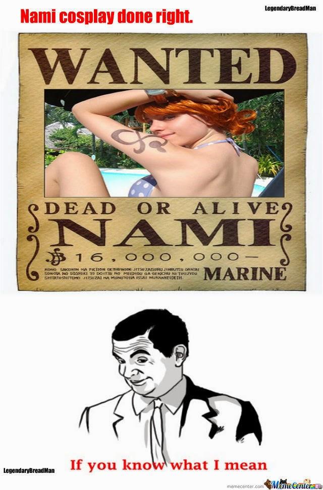 Nami Cosplay