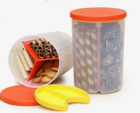 TRIO LOLLI TUPPERWARE