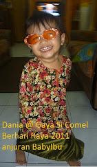 Dania Menang @ Gaya Si Comel Berhari Raya 2011