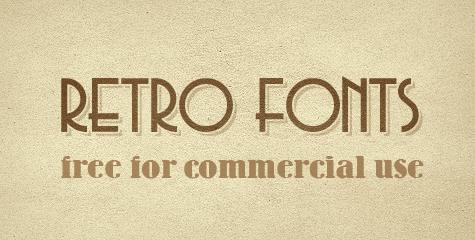Download Free Font Style Retro Corel Draw Effect Tutorial