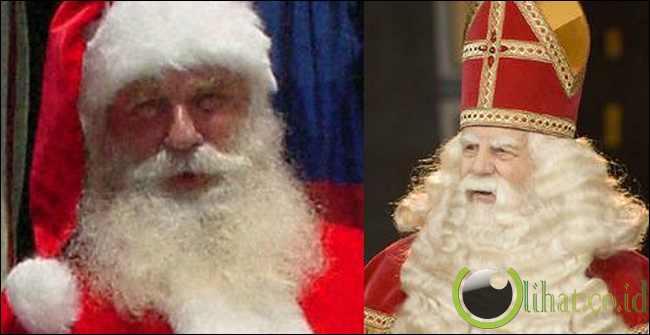 Sinterklaas dan Santa Claus