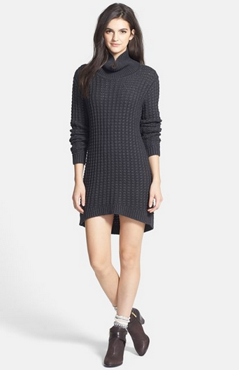 Wednesday Wishlist: Nordstrom's Products with a Cause, sweater dress, fall style, flannel, moto jacket, coated jeans