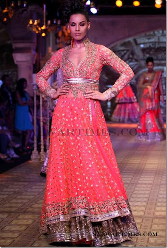 Delhi Couture Week 2012 Manish Malhotra Collection