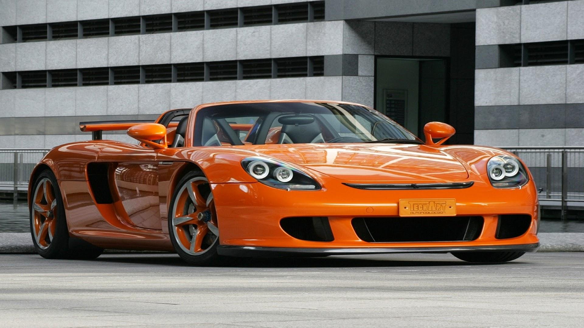 Porsche Sports Car Art Tech Carrera