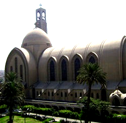 St. Mark's Cathedral, Cairo, Egypt, Coptic Orthodox Church