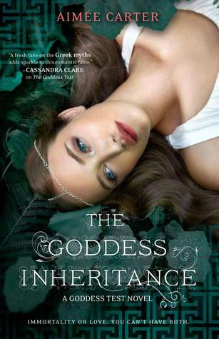 The Goddess Inheritance book cover