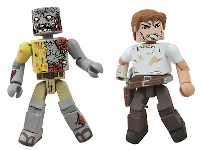 San Diego Comic-Con 2012 Exclusive The Walking Dead Minimates 2-Pack: Rick and Zombie