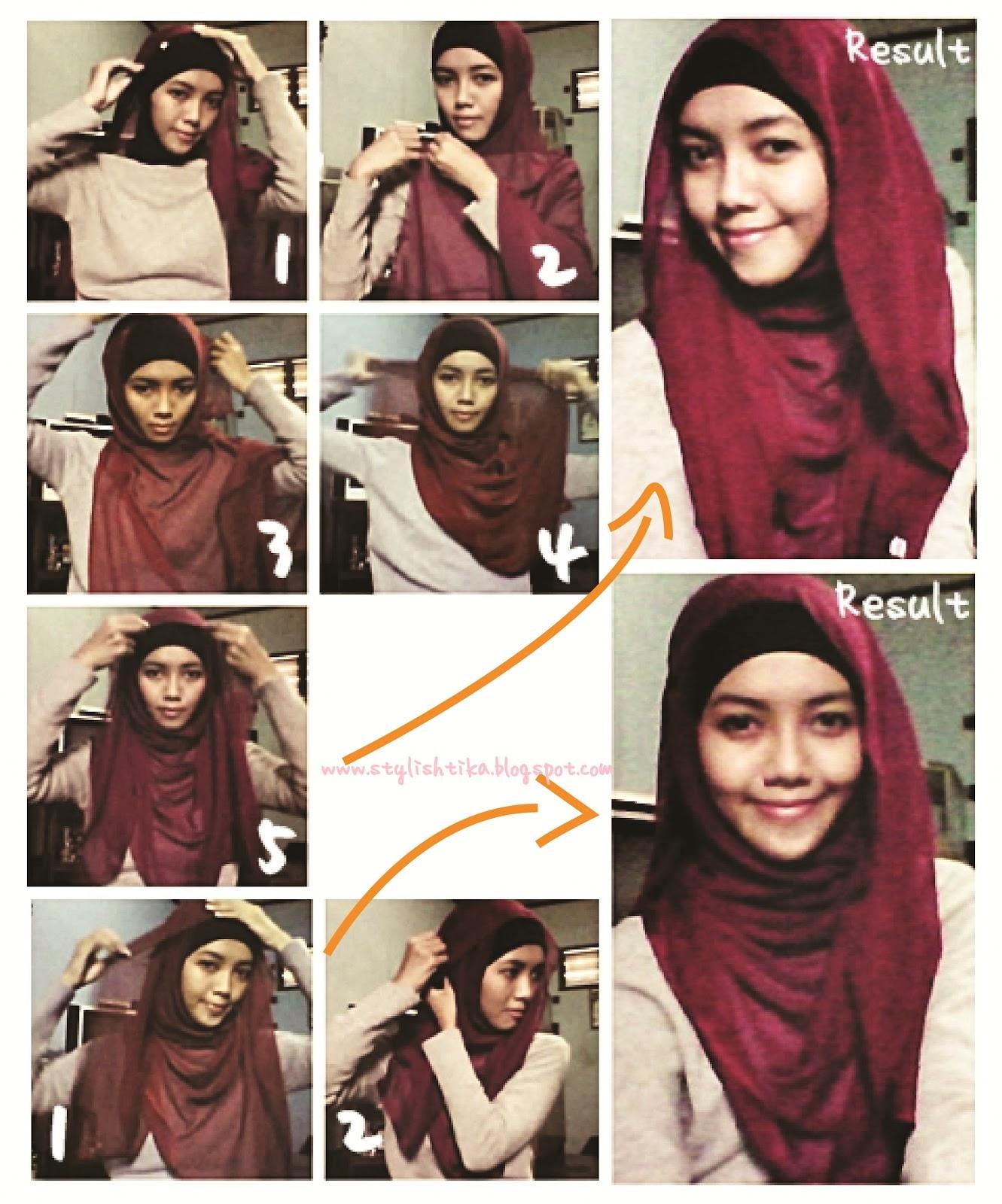 22 Kumpulan Tutorial Hijab Orang Arab Untuk Kamu Tutorial Hijab