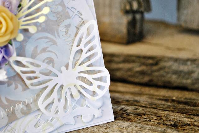 kartka scrapbooking kompet ślub