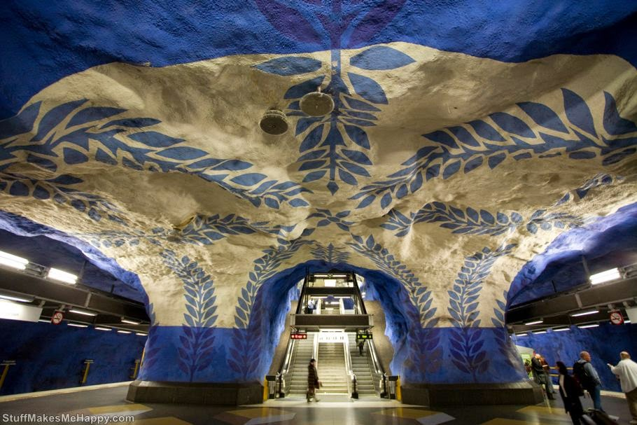 10 Metro Stations with the Most Extraordinary Interior