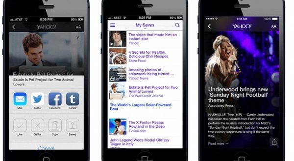 Yahoo iOS7