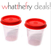Buy Tupperware Smidget 100ml 2 pcs Set Rs. 72 or 4 pcs Set Rs.130 & 35% cashback