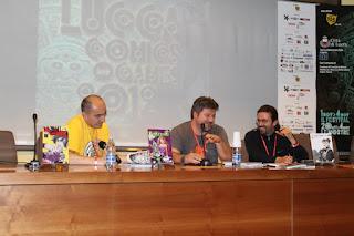 Conferenza Cyrano Comics a Lucca 2012