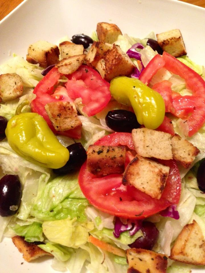 Image Gallery Olive Garden Salad Silly
