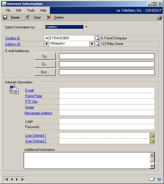 In Touch with Dynamics GP How to reprint a remittance advice in – Remittance Advice Slip