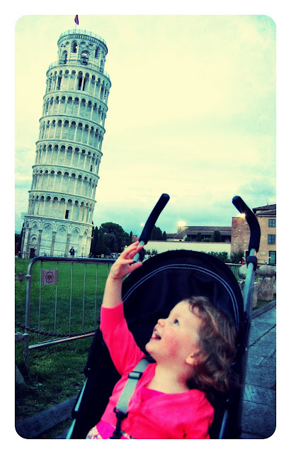 Mini Cheddar At The Leaning Tower Of Pisa