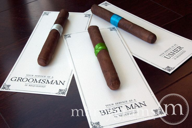 Operation counting stars diy groomsmen ask cigar cards we wanted to have some ybor flavor in these as well so we went with the cigar card ask we wanted ybor cigars but could not find any with plastic wrap junglespirit Image collections