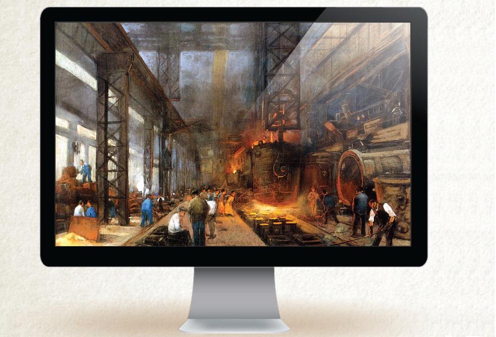 Plano de aula na Revista Profissão Mestre: Revolução Industrial