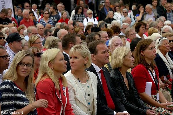 Margot Wallström, Stefan Löfven, Annelie Hultén, Anna Johansson, Socialdemokraterna, Göteborg