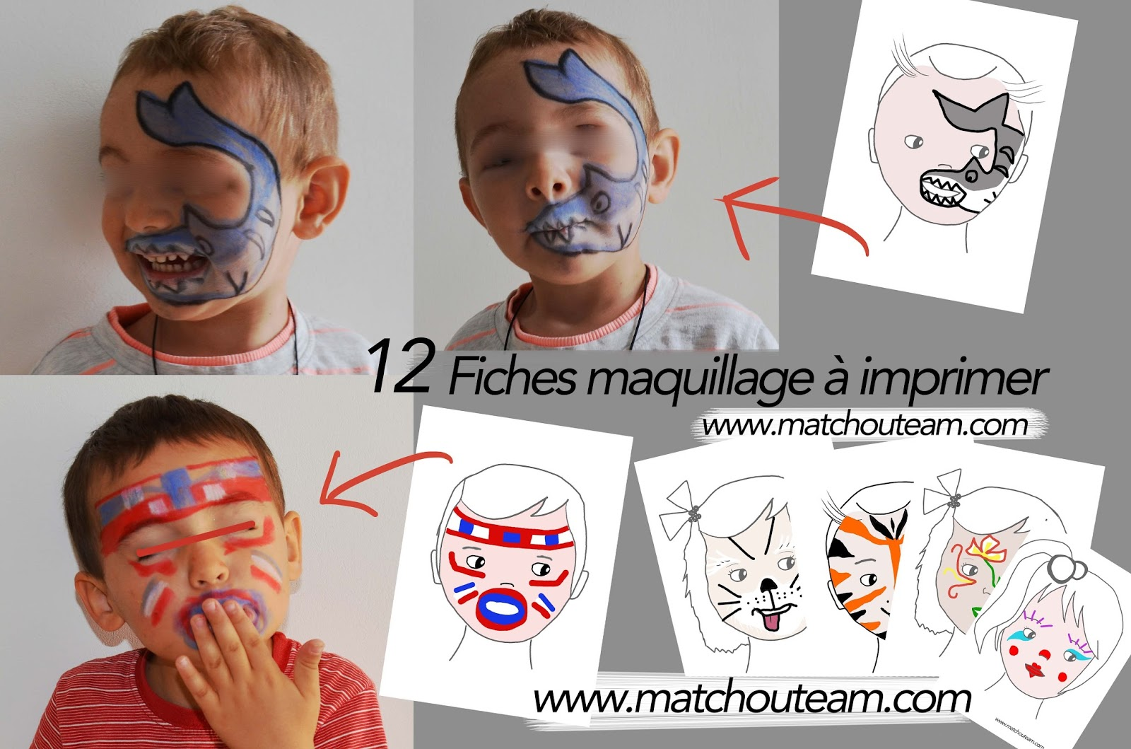 Ma Tchou Team Maquillage Enfants Inspirations
