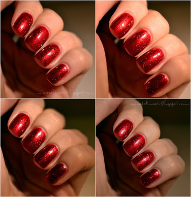 China glaze Drive in & Essence Time for romance